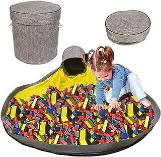 収納バッグ 収納袋 おもちゃ収納用 2020最新型 おもちゃ入れ 玩具収納箱 子ども玩具収納 直径150cm 遊びマット ブロック収納 お片付け簡単 洗濯可能 お出かけに便利 多用途 超大 子供片付け練習