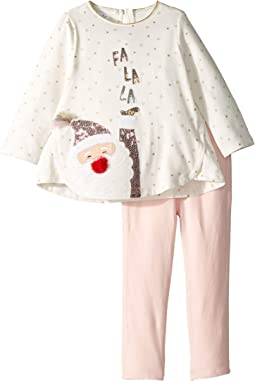 Christmas Santa Tunic and Leggings Two-Piece Playwear Set (Infant)