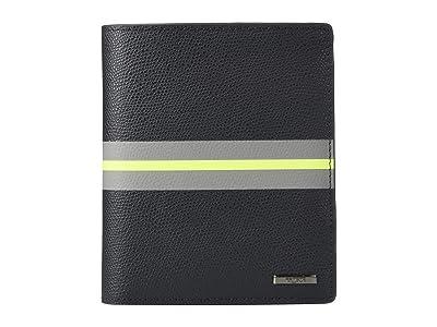 Tumi Province Passport Case (Black Stripe) Wallet