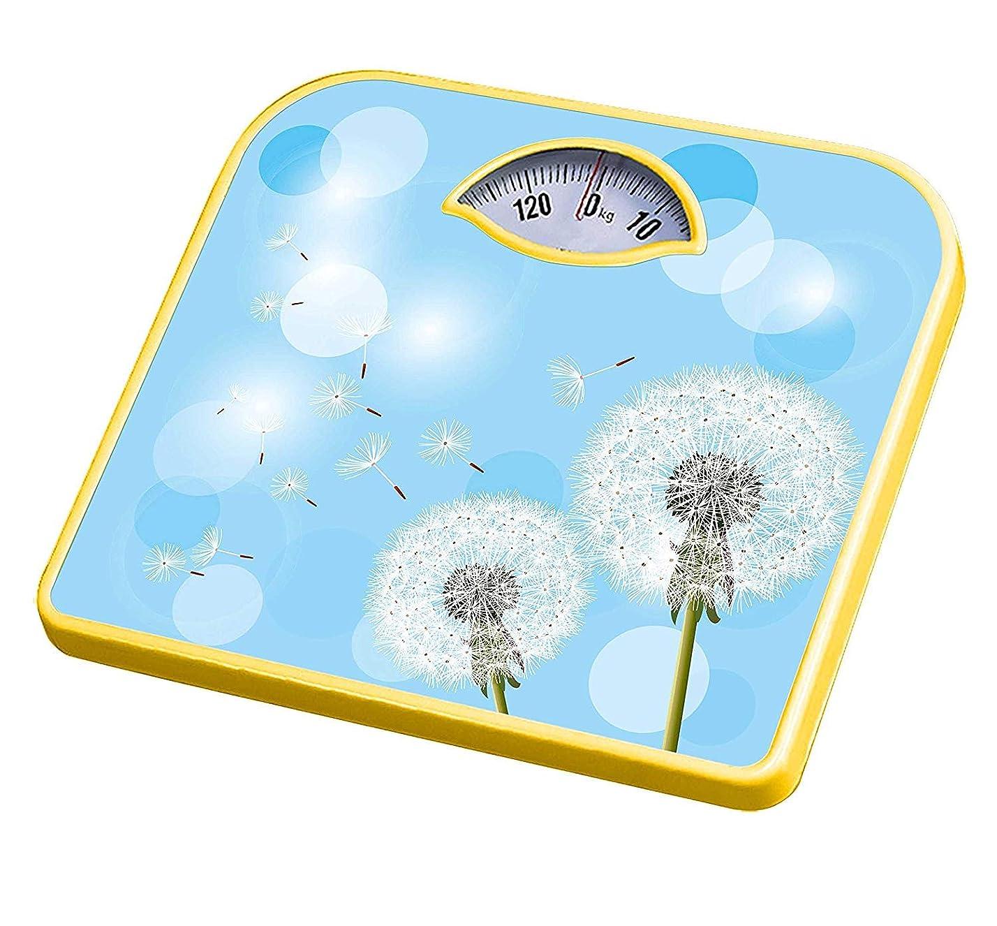 受取人オセアニアシットコム電子体重計浴室家庭用体重計健康スケール家庭用機械スケールポインタースケール243 * 268 * 42 mm,A