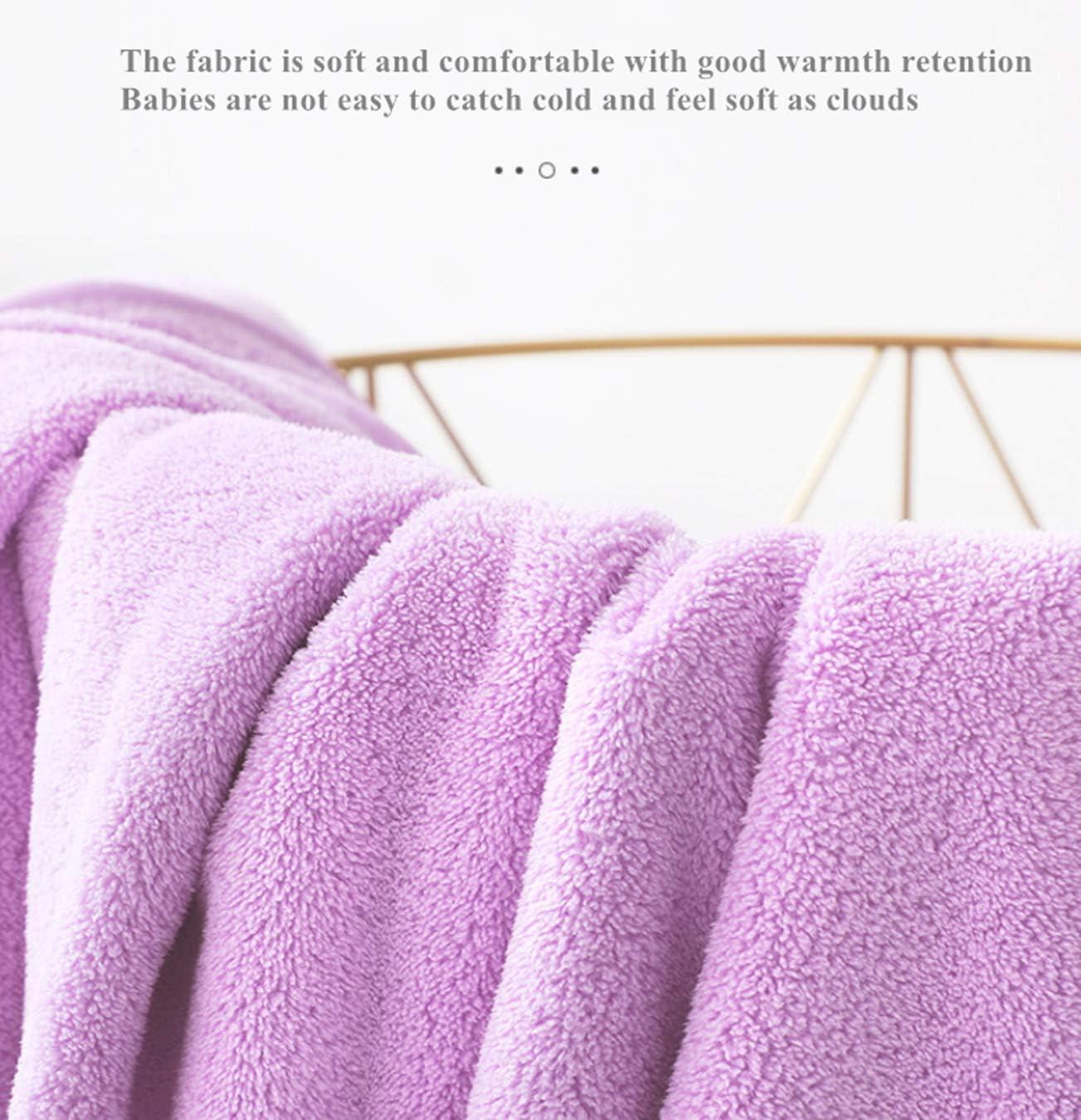 HUOCAI Ni/ños Encapuchado Toalla Extra grande y absorbente Divertida Capucha para 0-6 a/ños Ni/ños Toallas de Ba/ño para Ni/ños y Ni/ñas Talla 70x140 cm rosado Toalla de beb/é con capucha