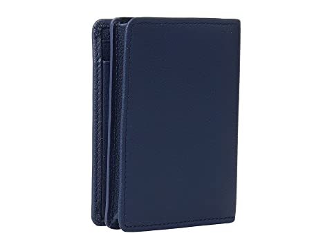 Textured Case Tumi Ocean Gusseted Nassau Card Blue w0Cw1q67x