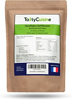 Heroflakes Hefeflocken - 350g Hefeflocken - Nutritional Yeast Flakes - Hefe Flocken Vegan - Veganer Käseersatz Glutenfrei...