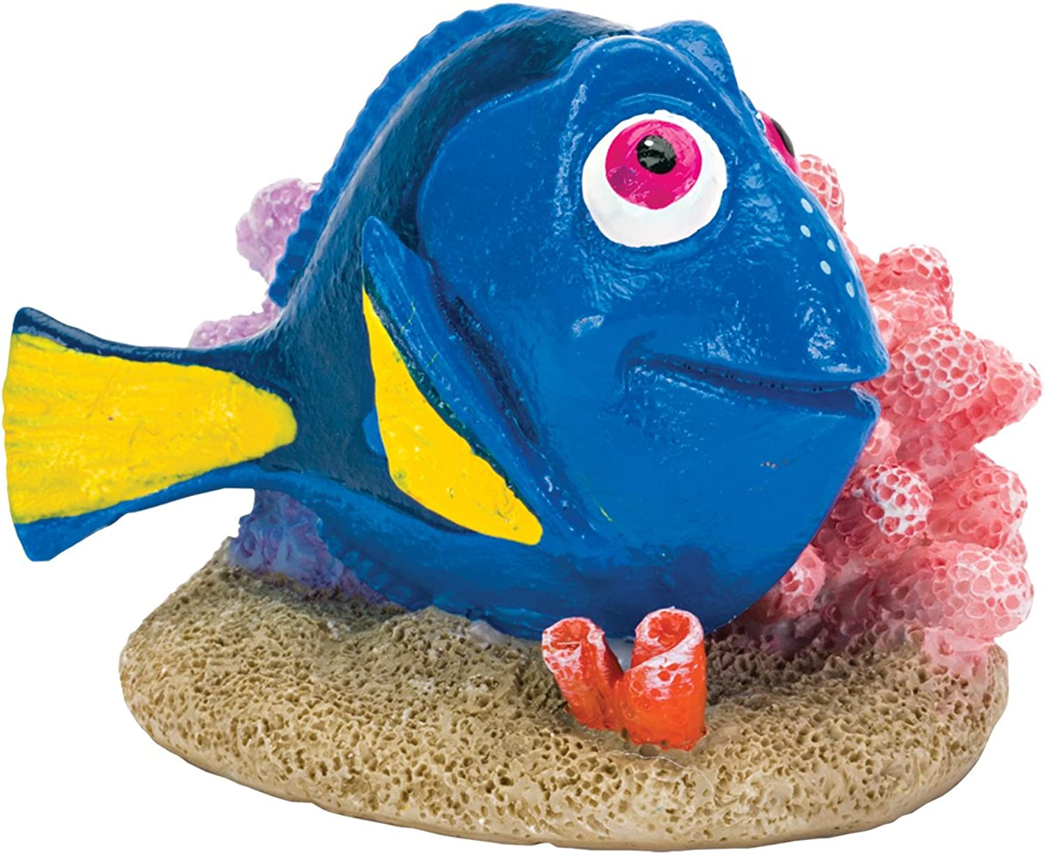 Penn Plax 64674 Finding Dory with Coral, Mini