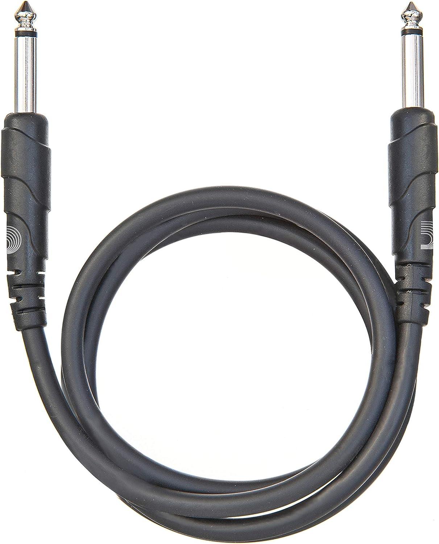 Planet Waves PW-CGTP-03 Classic Series - Cable patch de audio, 0.91m, color negro