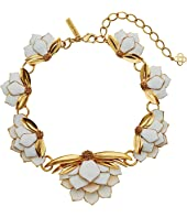 Oscar de la Renta - Wild Lotus Necklace