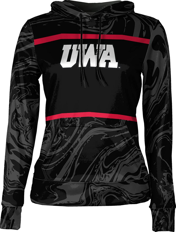 ProSphere University of West Alabama Girls' Pullover Hoodie, School Spirit Sweatshirt (Ripple)