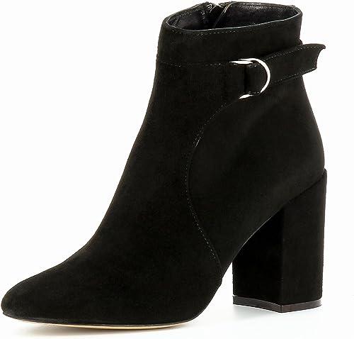 Evita chaussures Tina Bottines Femme Daim