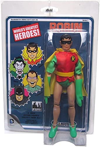 DC Comics Worlds Greatest Heroes Robin Retro Action Figur