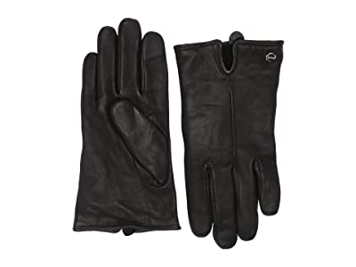 Echo Design Solid Leather Gloves (Black) Extreme Cold Weather Gloves
