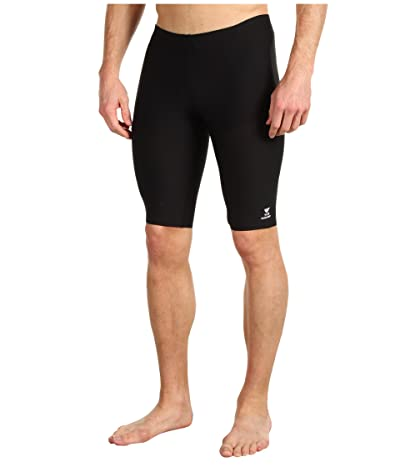 TYR Durafasttm Elite Solid Jammer (Black) Men