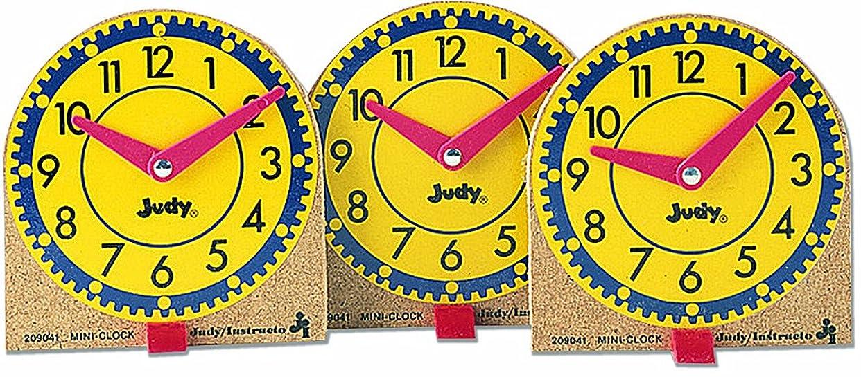 まばたき排出ピストンFRANK SCHAFFER出版物J-209041 ORIGINAL MINI CLOCKS 12-PK-WOOD