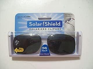 Solar shield Polarized 56 Rec 1 Clip-on Full Frame Gray …
