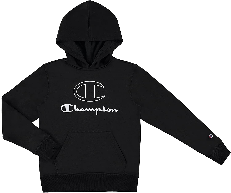 Champion Boys Hoodie Long Sleeve Sweatshirt Athletic Max 68% OFF Tech Hooded Omaha Mall