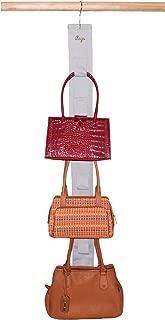 Master Craft Handbag Hangup Deluxe Purse and Scarf Organizer,  Off White