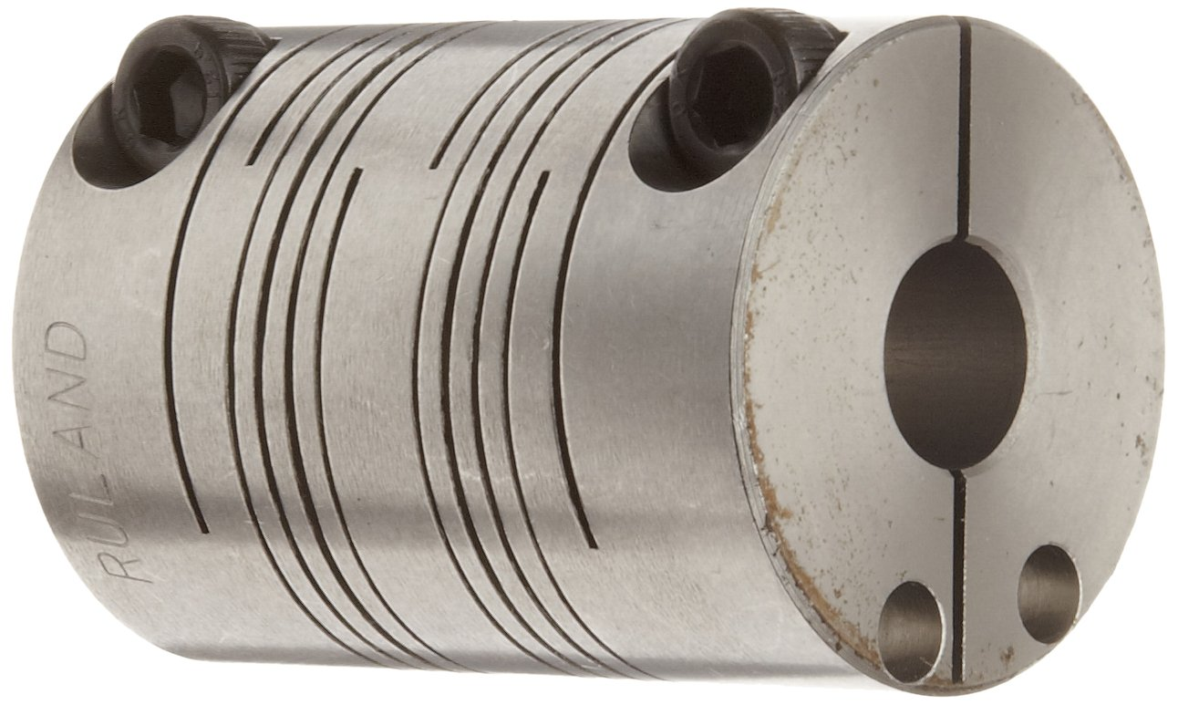 Ruland PCR12-4-2-SS Today's only Clamping Beam Inc Coupling Steel Stainless discount