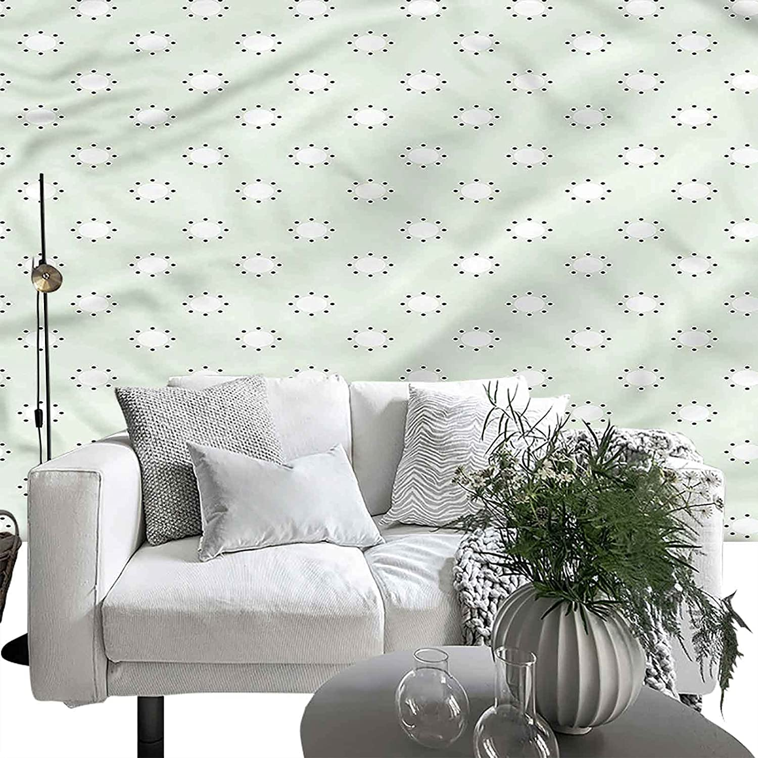 Wall Sticker Max 63% OFF for Bedroom Max 82% OFF Living Room Round Pol with Blue Circles