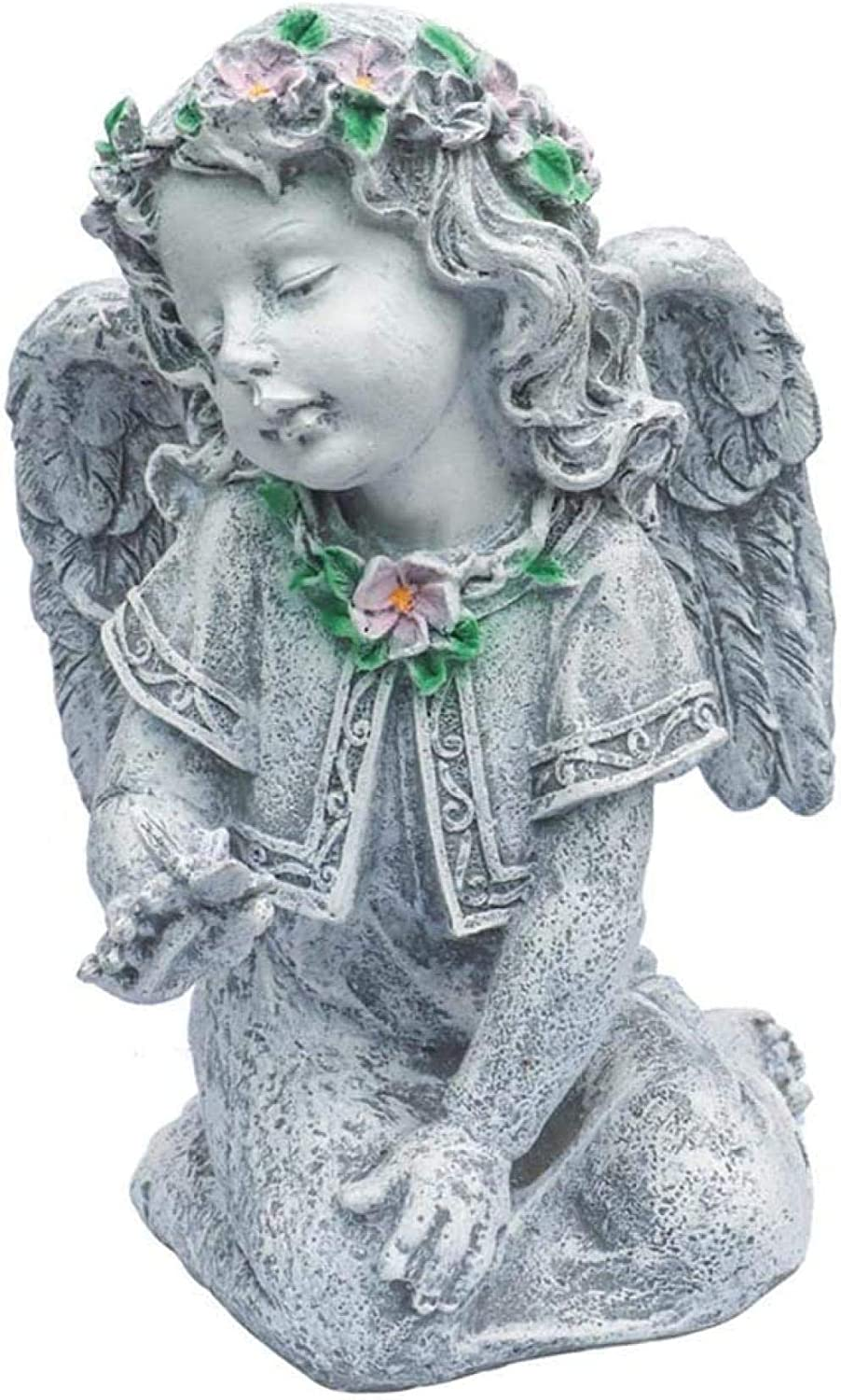 Statues Garden Angel Sculpture Wings Courtyard Statue Max Financial sales sale 73% OFF with