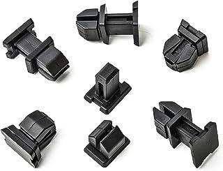 7H0843514 Lot de 20 clips de fixation pour porte coulissante