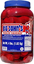 Big John's Pickled Sausage - 4 lb. jar