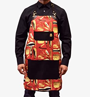 barber strong apron