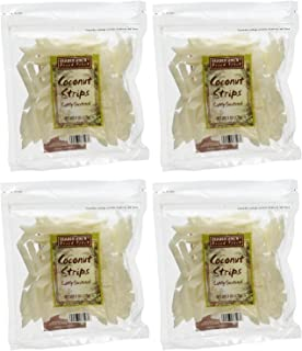 Trader Joe's Coconut Strips (Pack of 4)