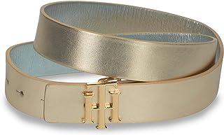 Fashion LadyS Belt Cintura Sottile Accessori Di Abbigliamento Fascia Elastica In Vita Dorata