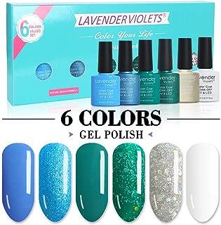 Gel Nail Polish Set UV LED Soak Off 8ml 6.Bot F825