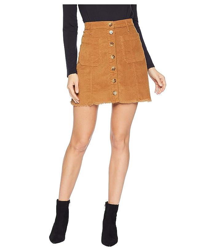 Show Me Your Mumu Sedona Skirt (Stretch Corduroy Hazelnut) Women