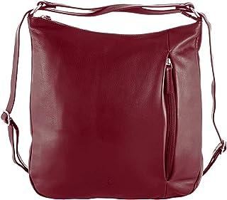 Sattlers & Co. Damen Rucksack Delandro The Elegant | Rucksack für Damen | Echtleder | Damenrucksack aus echtem Leder