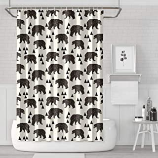 Polar Bear Papa Bear Shower Curtain Liner Fashion Water Resistant for Bathroom,Printing Bath Curtains
