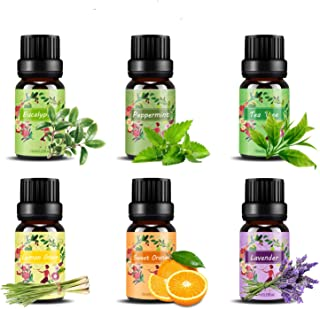 Set de aceites esenciales,100% Natural Puro Aromaterapia