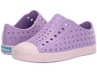 Native Kids Shoes Jefferson (Little Kid/Big Kid) (Lavender Purple/Milk Pink) Girl