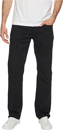 Six X Slim Fit Torpedo Stretch Twill in Black