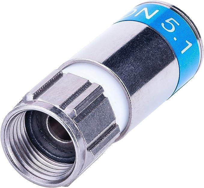 Lot de 40/Cablecon de compression fiches F 56/CX3/5,1