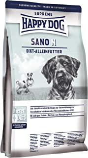 HAPPY DOG (ハッピードッグ) サノN 腎臓ケア グルテンフリー 全犬種 成犬〜シニア 無添加 ヒューマングレード ドイツ製 ドッグフード (1kg)