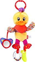 HAHA Baby Hanging Rattle Teething Toy Infant Boy Girl Stroller Car Seat Crib Sensory Learning Activity Toy Newborn Clip On...