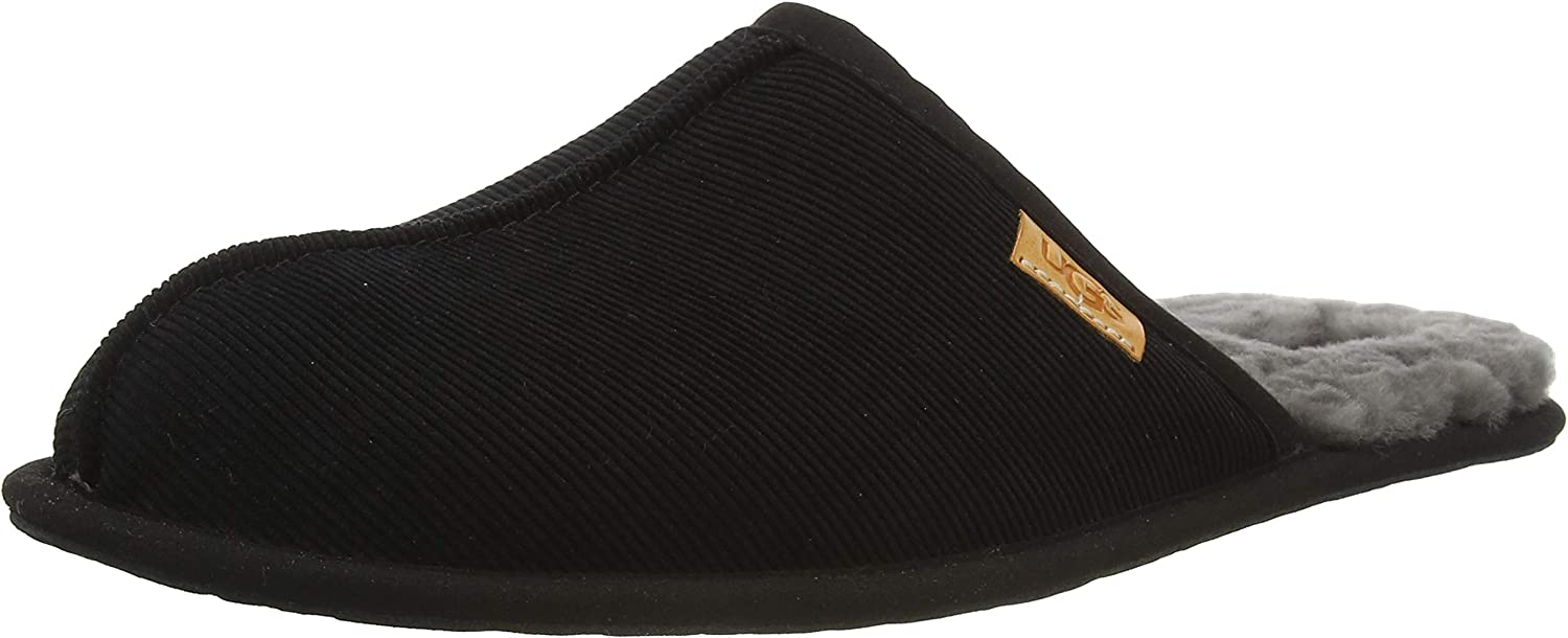 UGG Men's Scuff Seasonal Wrap Introduction Corduroy Slipper Challenge the lowest price of Japan ☆