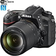 Nikon D7200 24.2 MP DX-Format Digital SLR Camera with 18-140mm VR Lens (Black)(Renewed)