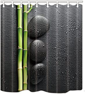 Best black and green shower curtain Reviews