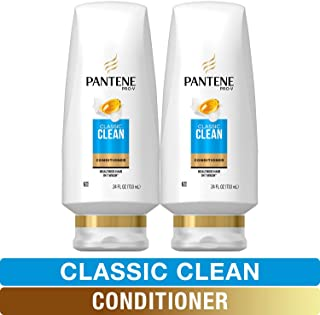 Pantene, Sulfate Free Conditioner, Pro-V Classic Clean, 24 fl oz, Twin Pack