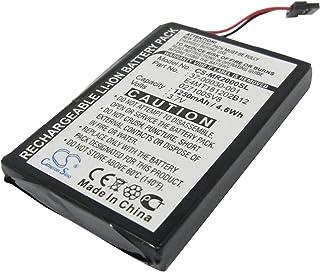 Bateria Magellan RoadMate 2000, RoadMate 2200T, RoadMate 2250T, 1250 mAh