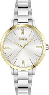 Hugo Boss Women's Analog Quartz Watch with Stainless Steel Strap 1502581