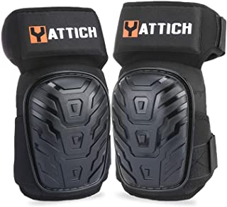 YATTICH Knee Pads for Work, Professional Knee Pads with Soft Gel Core and Durable EVA Foam Padding, Use for Cleaning, Flooring, Construction - YT754
