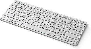 Microsoft Designer Compact Keyboard - Clavier Bluetooth compact - français AZERTY - Gris Glacier