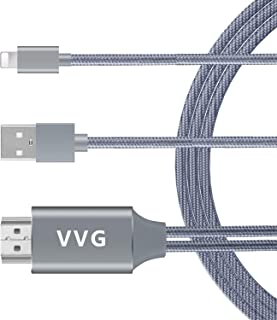 HDMI Cable for Phone to TV/Monitor/Projector,VVG 1080P...