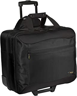 Targus CityGear Rolling Travel Case for 17 Inch Notebooks TCG717 (Black with Grey)