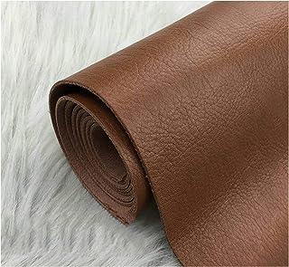 Similicuir PU 138cm Largeur Épais , Tissu Faux Cuir pour Bagages Canapé Ceinture Sac Dur Décoration Intérieure Décoration ...