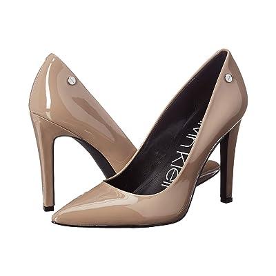 Calvin Klein Brady (Tobacco Patent) High Heels