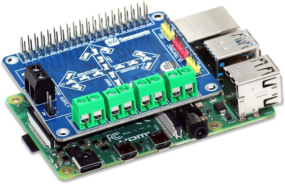 SB New Motorshield for Raspberry Pi Arlington Mall 3 Zero Large-scale sale and 2 This 1 Expansio